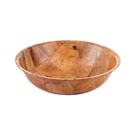 Tablecraft Mahogany Wood Salad Bowl - 10 in.