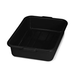 Tablecraft Tote Deep Bus Box Black - 21.75 in. x 16.75 in. x 5 in.
