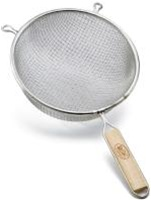 Tablecraft Double Medium Mesh Strainer - 8 in.