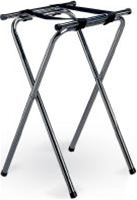 Tablecraft Chrome Double Bar Tray Stand - 29.5 in.