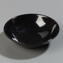 Carlisle Salad Bowl Black 5.5 in.