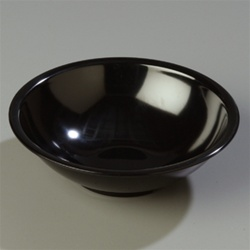 Carlisle Salad Bowl Black 7.5 in.