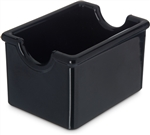 Carlisle Plastic Sugar Caddy Black 3.43 in.