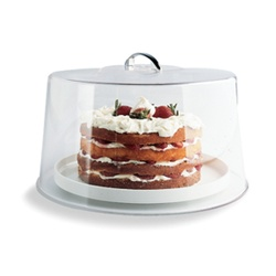 Carlisle High Pie Cake Cover Clear 6 in.
