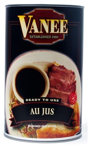 Au Jus Seasoned Beef Stock - 49 Oz.
