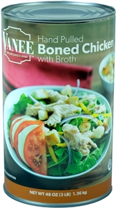 Vanee Foods Boned Chicken With Broth Cooked