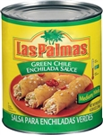 B and G Foods Las Palmas Medium Green Enchilada Sauce