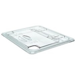 Cambro Flip Lid Half Size Clear