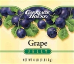 Carriage House Grape Glass Jelly 4 Lb.