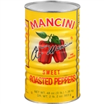 Mancini Roasted 48 oz. Red Peppers
