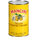Mancini Roasted 48 oz. Yellow Pepper