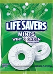 Wrigleys Lifesaver Wint O Green Candy Bag - 6.25 Oz.
