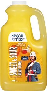 Beverage Specialties Major Peters Ready To Use 64 oz. Sweet N Sour Mixer