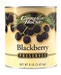 Carriage House Seedless Blackberry Preserves - 128 oz.