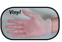 Boyd Vinyl Powdered Disposable Gloves Medium