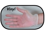 Boyd Vinyl Powdered Disposable Gloves Large