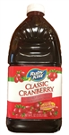 Clement Pappas Plastic Bottle Cranberry Cocktail Juice - 64 Oz.