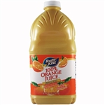 Clement Pappas Orange Juice Plastic Bottle - 64 Oz.