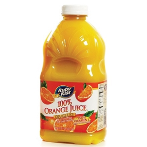 Clement Pappas Orange Juice Grip Plastic Bottle - 46 Oz.
