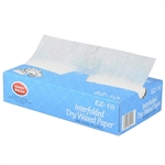 Handy Wacks Economy Grade Interfolded Deli Dry Wax Tissue - 10 in. x 10.75 in.