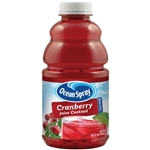 Ocean Spray Bar Pac Bottle Cranberry Juice Cocktail Mixer - 32 Oz.