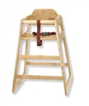 Tablecraft Natural Unassembled High Chair