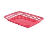 Tablecraft Large Grande Red Basket - 11.75 in. x 8.5 in.