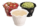 Cambro Swirl Bowl Clear 5 Oz.
