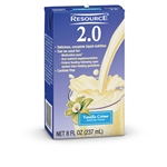 Nestle Healthcare Novasource 2.0 Vanilla - 8 Oz.