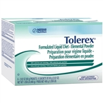 Tolerex Maintenance Elemental Diet Powder Packet - 2.82 oz. Case of 60 in Bulk