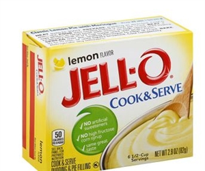 Kraft Nabisco Jello Pudding and Pie Filling Lemon Dessert - 2.9 Oz.