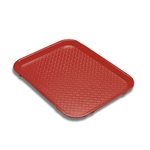 Serving Solutions Fast Food Tray Red - 10 in. x 14 in.