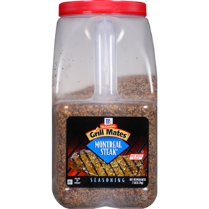 McCormick Montreal Steak 7 Pound Grill Mates Seasoning