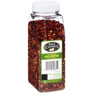 McCormick Spice Classic 12 oz. Red Crushed Pepper