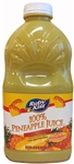 Clement Pappas Grip Plastic Bottle Pineapple Juice - 46 Oz.