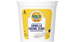 General Mills Gold Medal Ready To Serve Icing Vanilla Creme - 11 Lb.