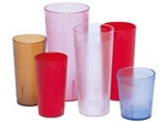 Cambro Plastic Tumbler Ruby Red 7.8 Oz.
