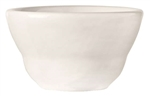 Porcelana Rolled Edge Bright White Bouillon Bowl - 7 Oz.