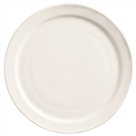 World Tableware Narrow Rim Porcelana Undecorated Plate - 9 in.