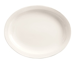 World Tableware Narrow Rim Porcelana Undecorated Platter - 11.5 in.