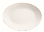 World Tableware Rolled Edge Undecorated Porcelana Platter - 11.75 in.