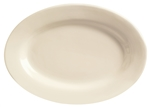 World Tableware Princess Undecorated White Platter - 10.38 in.
