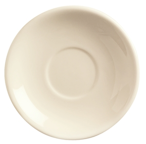 World Tableware Princess Undecorated White Saucer - 6 in.