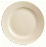 World Tableware Princess Undecorated White Reusable Plate - 9 in.