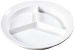 Carlisle Kingline 3 Compartment Plate White 8.72 in.