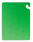 San Jamar Cut N Carry Cutting Board Green - 18 in. x 24 in. x 5 in.