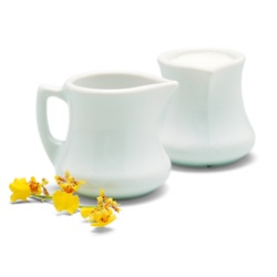 Carlisle Pitcher Creamer White 3 Oz.