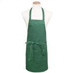 BVT-Chef Revival Green Full Length 30 in. x 34 in. Bib Apron