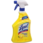 Lysol Lemon Scent All Purpose Cleaner Trigger Spray Bottle - 32 Fl. Oz.