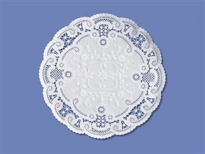 Smith Lee French Lace Doily - 8 in.
